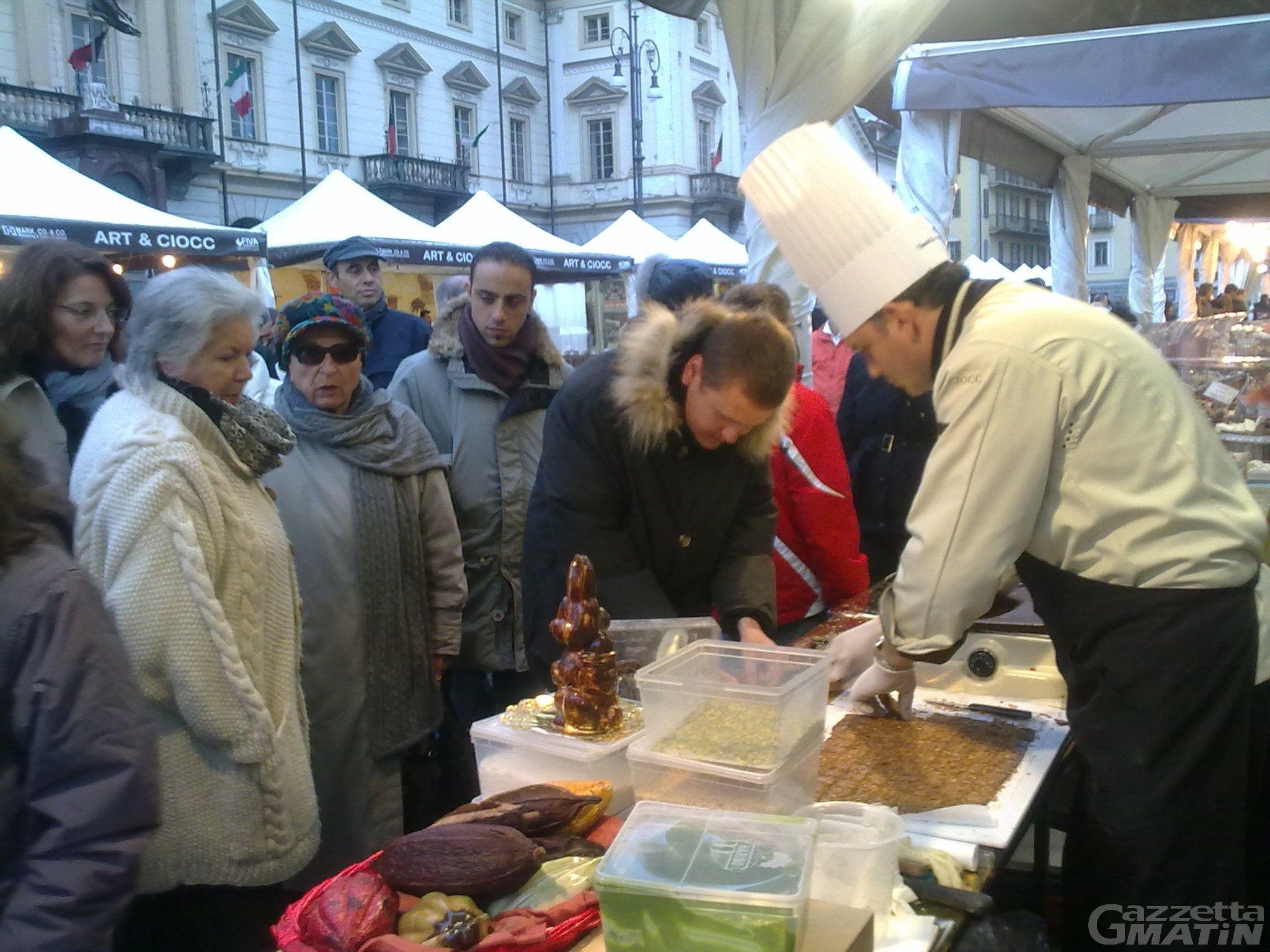 Aosta, a fine ottobre torna Art & Ciocc