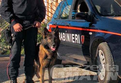 Châtillon, spaccio anche ai minori: arrestato 35enne