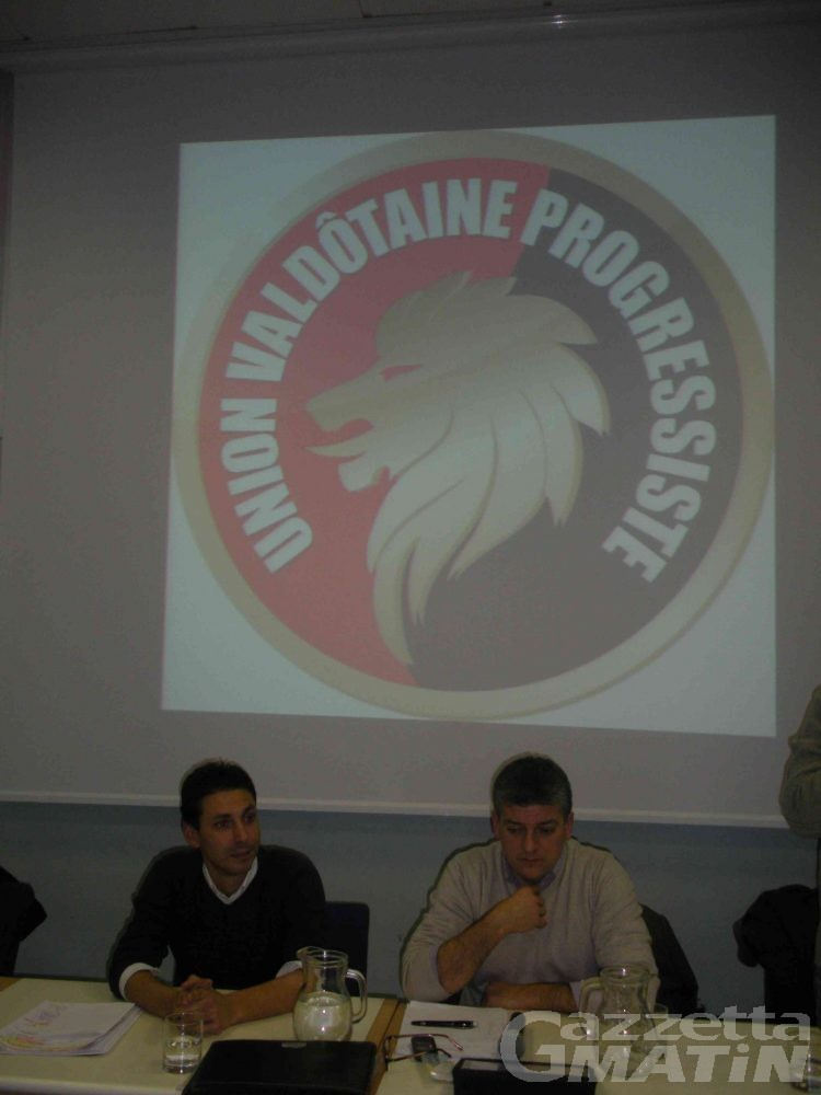 Union Valdôtaine Progressiste: il presidente è Claudio Brédy