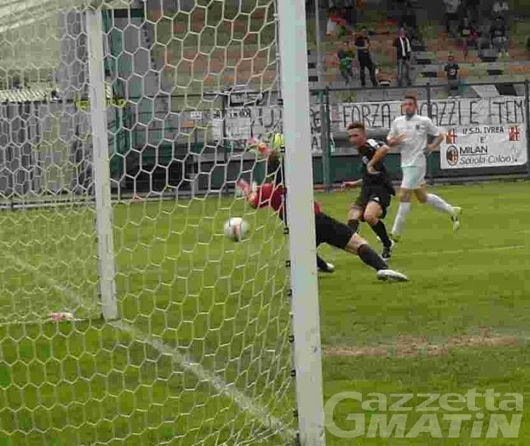 Calcio: Pllumbay spezza il sogno dello Charvensod