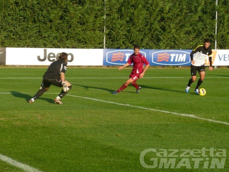 Calcio: la Juventus batte 9-2 il Vallée d'Aoste