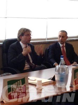 Forza Italia, una delegazione valdostana al Parlamento europeo