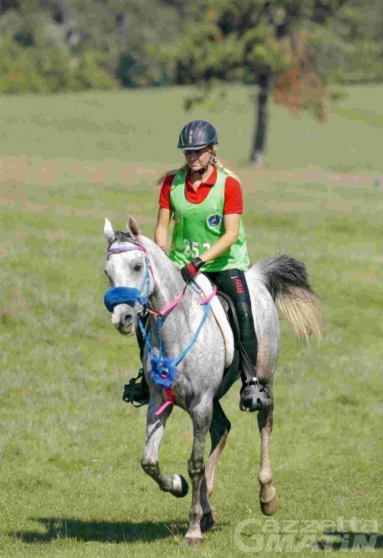 Endurance: Stefania Marchiano quinta a Neive