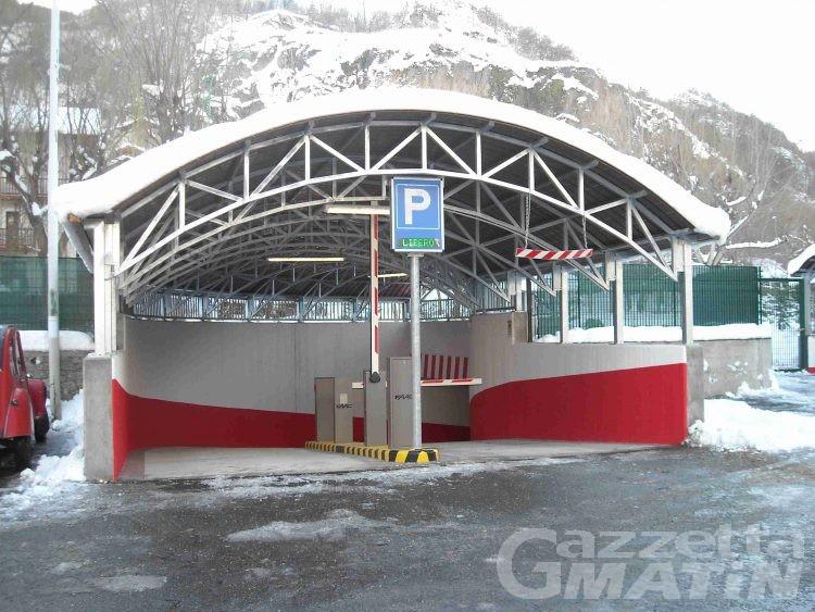Arvier, 32 nuovi posti auto per il borgo