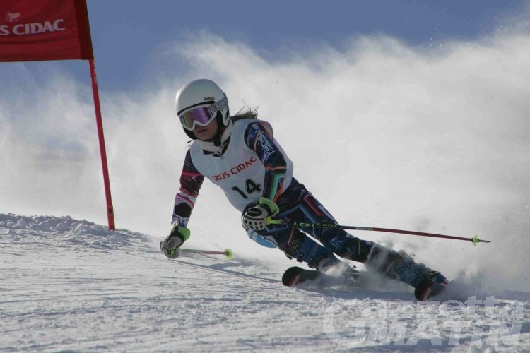 Sci alpino: Sophie Mathiou sesta agli italiani