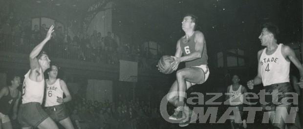 Addio a Maurice Desaymonet, gloria del basket francese