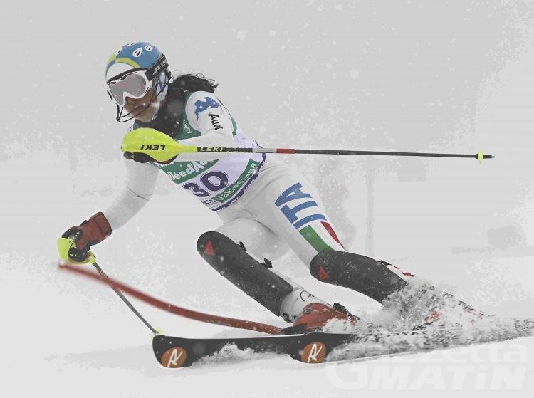 Sci alpino: Elena Curtoni vince il gigante del Cermis