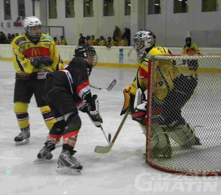 Hockey: l'Under 9 lascia a bocca asciutta i francesi