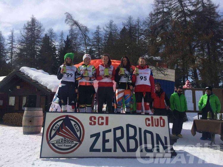 Sci alpino: Brustia e Pallais vincono il gigante