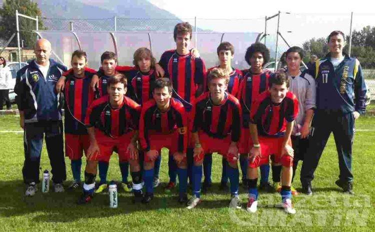 Calcio giovanile: Charva e Monte Cervino ai regionali Allievi