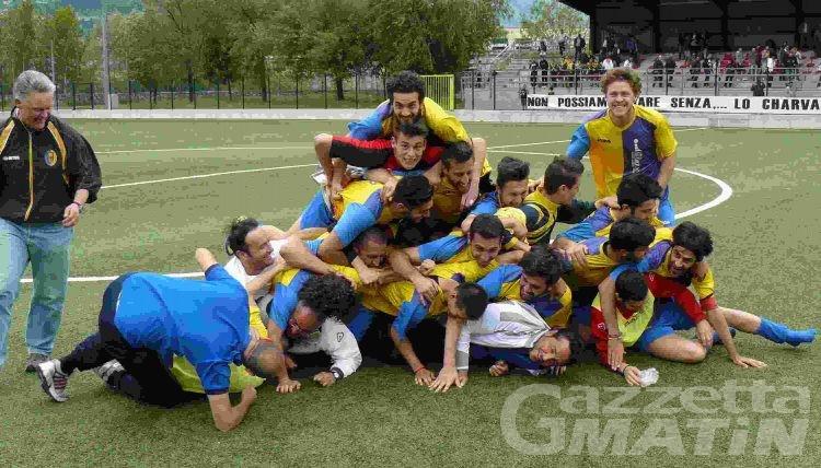 Calcio: lo Charva è salvo, il Real va in finale