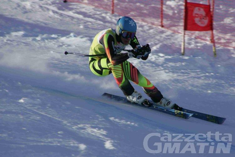 Sci alpino: Tedde campione italiano Aspiranti di discesa