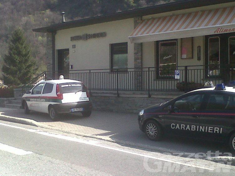 Criminalità: secondo assalto bancomat in tre settimane in Bassa Valle