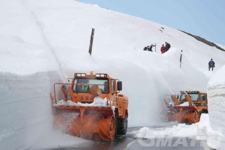 Viabilità: chiuso per neve il colle del Piccolo San Bernardo