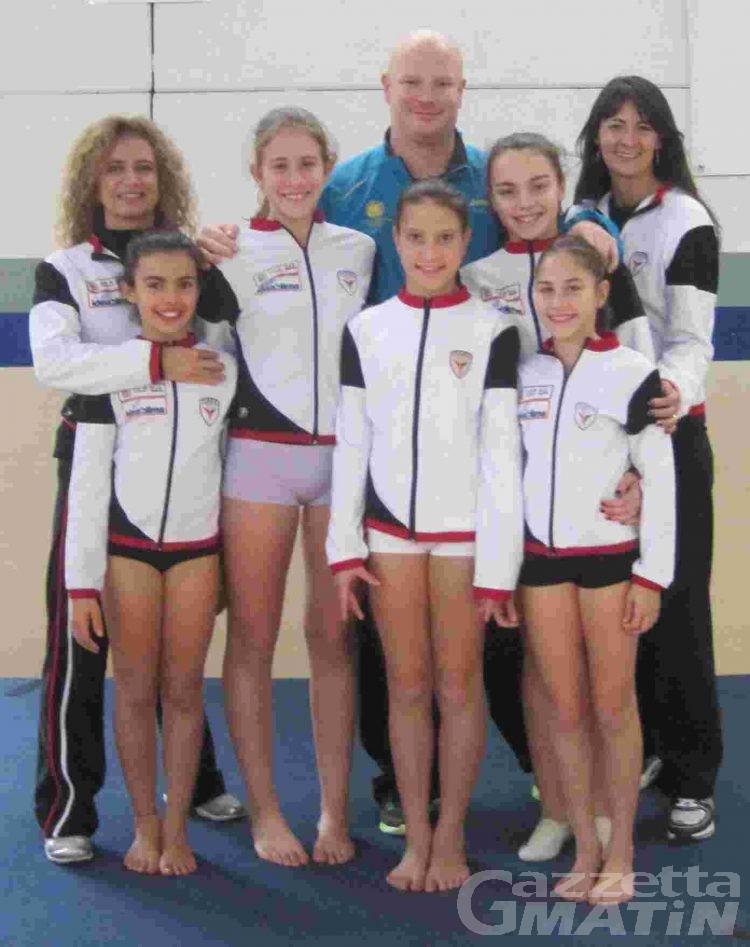 Ginnastica: stage di acrobatica per l'Olimpia