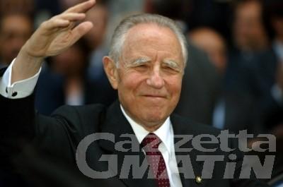 Morte presidente Ciampi, aperto registro condoglianze