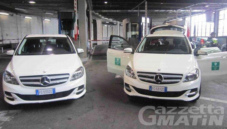Sitrasb: inaugurato il parco auto elettriche aziendale
