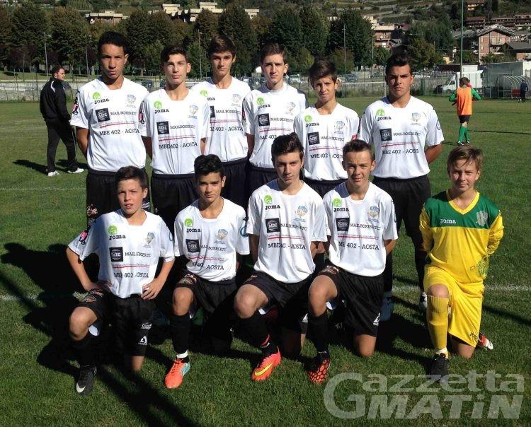 Calcio giovanile: eliminati i Giovanissimi dell'Aosta 511