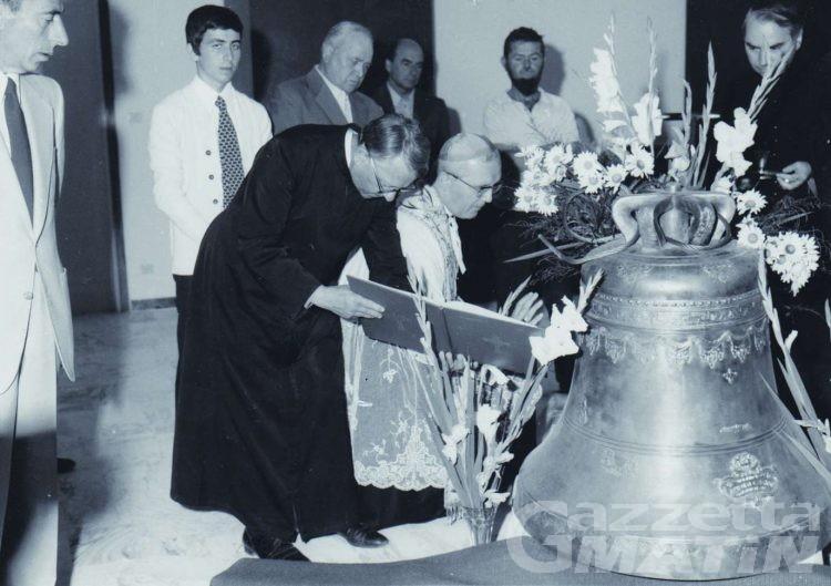 La chiesa di sant'Anselmo festeggia 40 anni