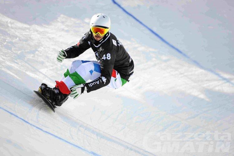 Snowboardcross: Matteotti e Cordi steccano l'esordio