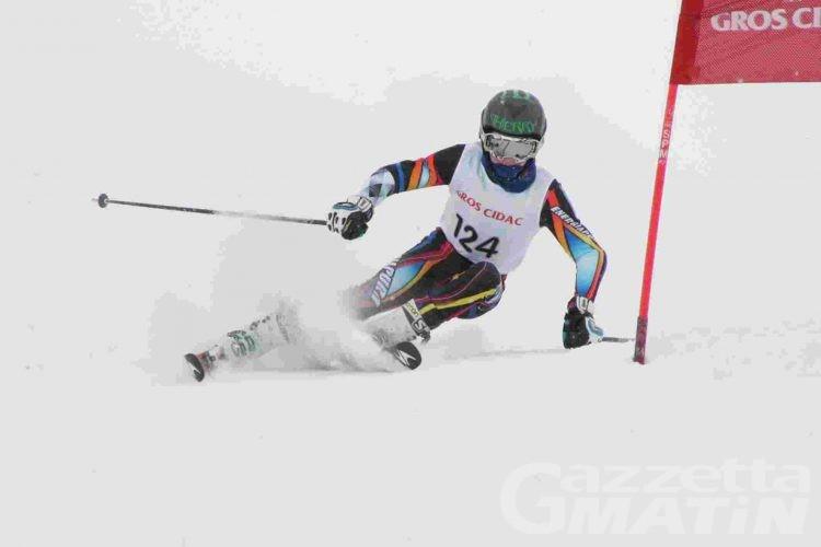 Sci alpino: ventotto giovani valdostani pronti per il Trofeo Topolino