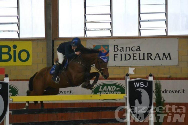 Equitazione: Spinelli sul podio a Tortona