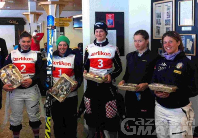 Sci alpino: Jasmine Fiorano ottava in Svizzera