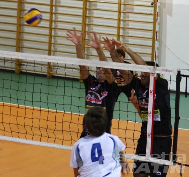 Volley: il Bruno Tex Olimpia comincia alla grande i play off