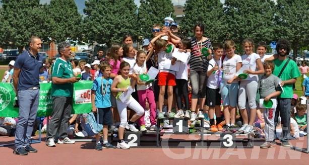 Atletica: giovedì la festa finale dei corsi scolastici della Cogne