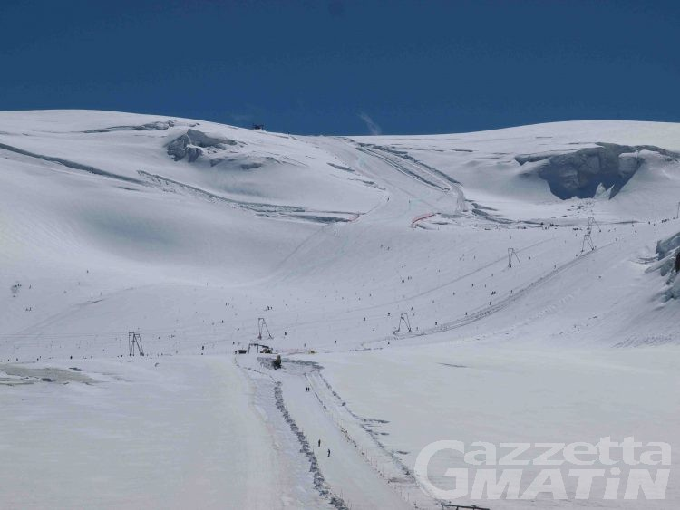 Cervinia, debutta la stagione estiva dello sci
