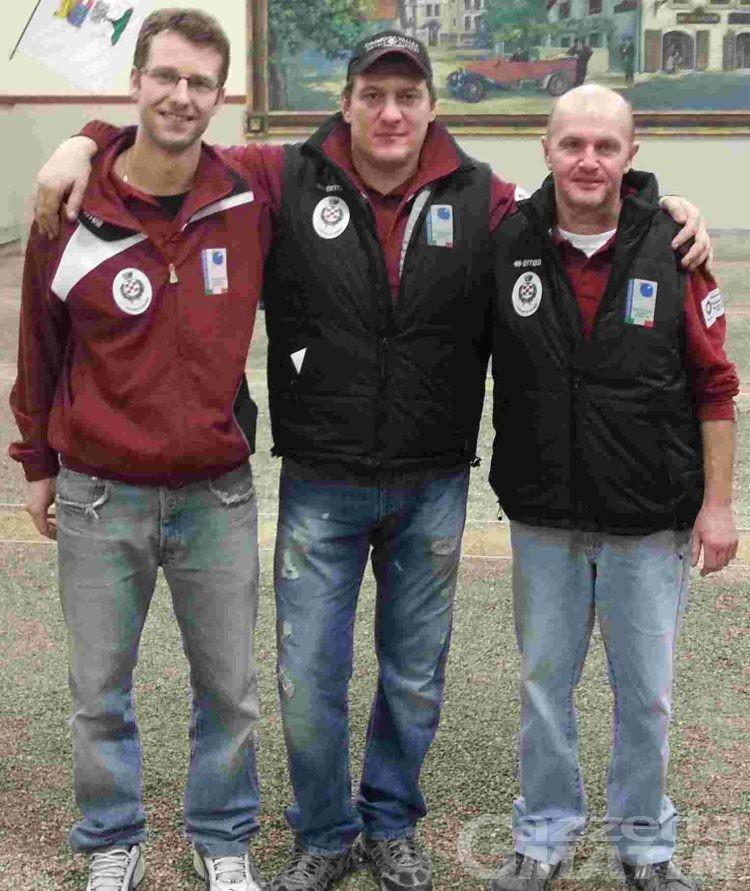 Petanque: il Variney protagonista in Svizzera
