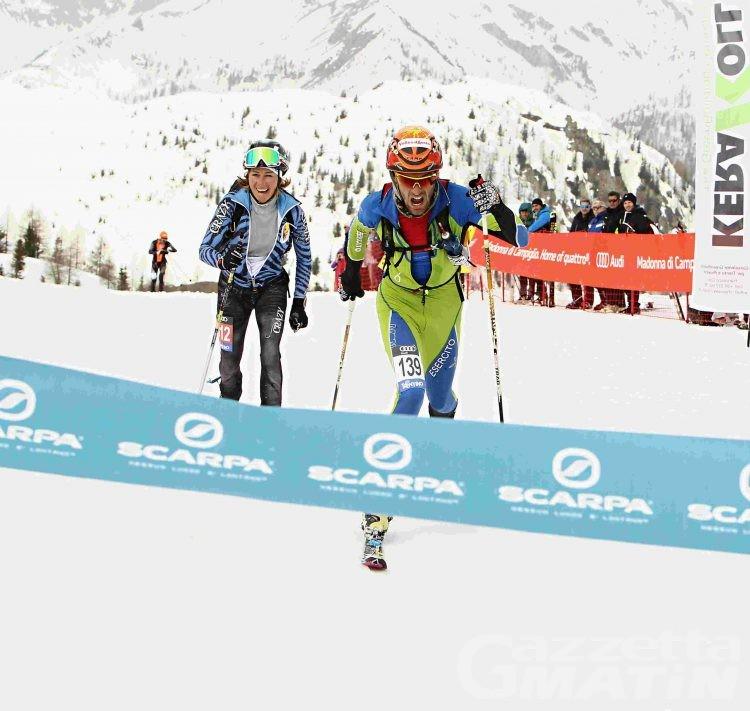 Scialpinismo: Matteo Eydallin domina sulle Dolomiti di Brenta