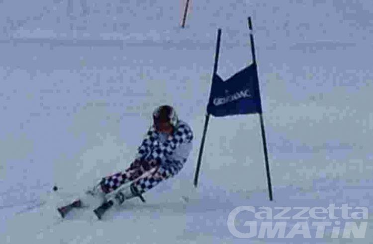 Sci alpino: Fiorano e Tedde dettano legge a Courmayeur