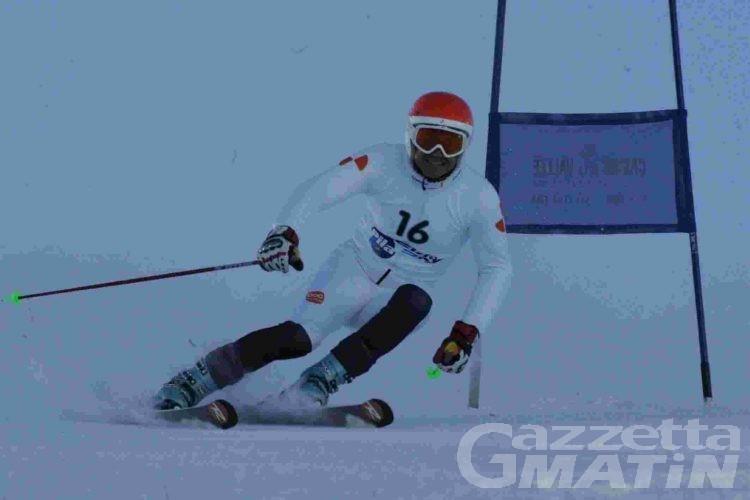 Sci alpino: Corrado Canonico fa doppietta a Pila