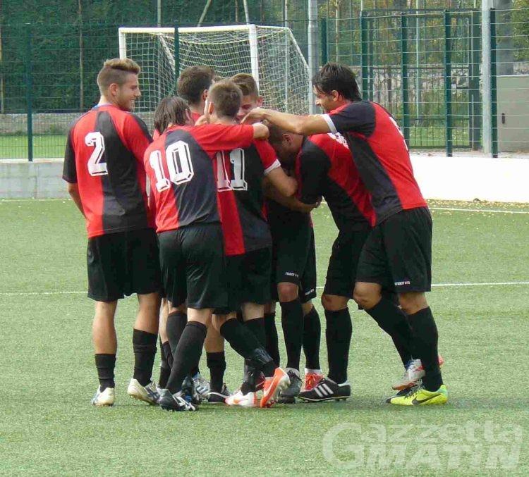 Calcio: l'Aygreville vince nuovamente a Grugliasco