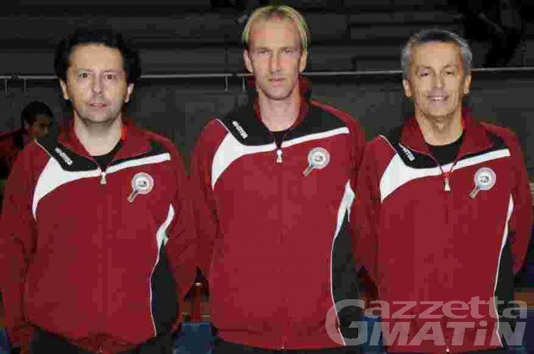 Tennistavolo: Berti, D'Agostini, Perrenchio e Malisan campioni valdostani