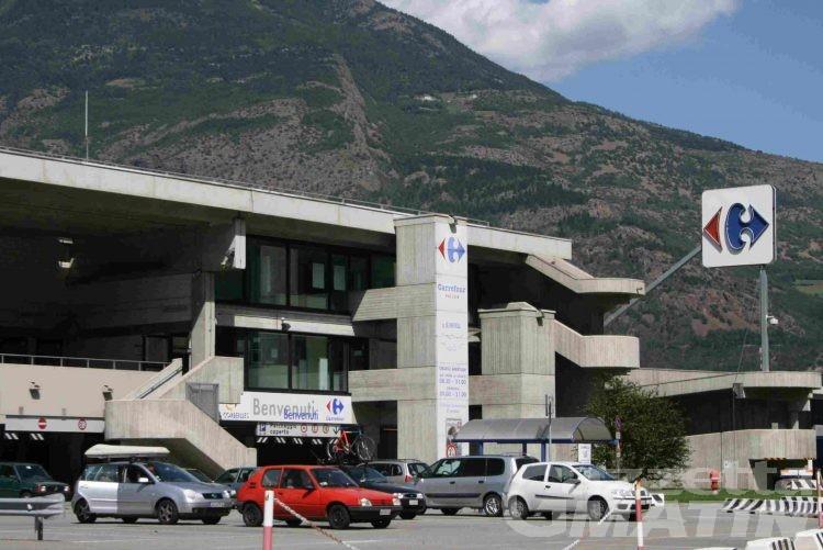 Piano tagli Carrefour, stato di agitazione lavoratori Valle d'Aosta