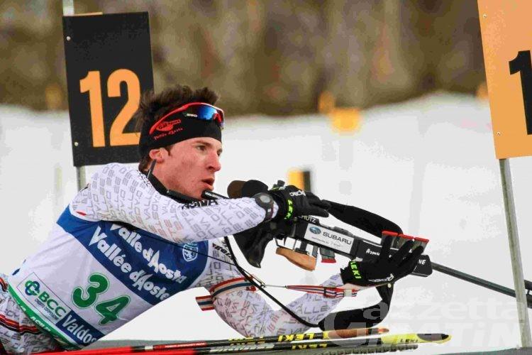 Biathlon: Di Francesco fa doppietta a Bionaz