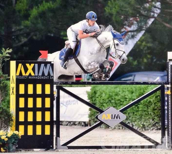 Equitazione: François Spinelli brilla a Tortona