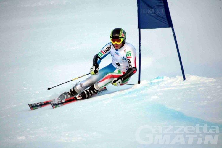 Sci alpino, ad Adam Peraudo il Gigante Fis di La Thuile