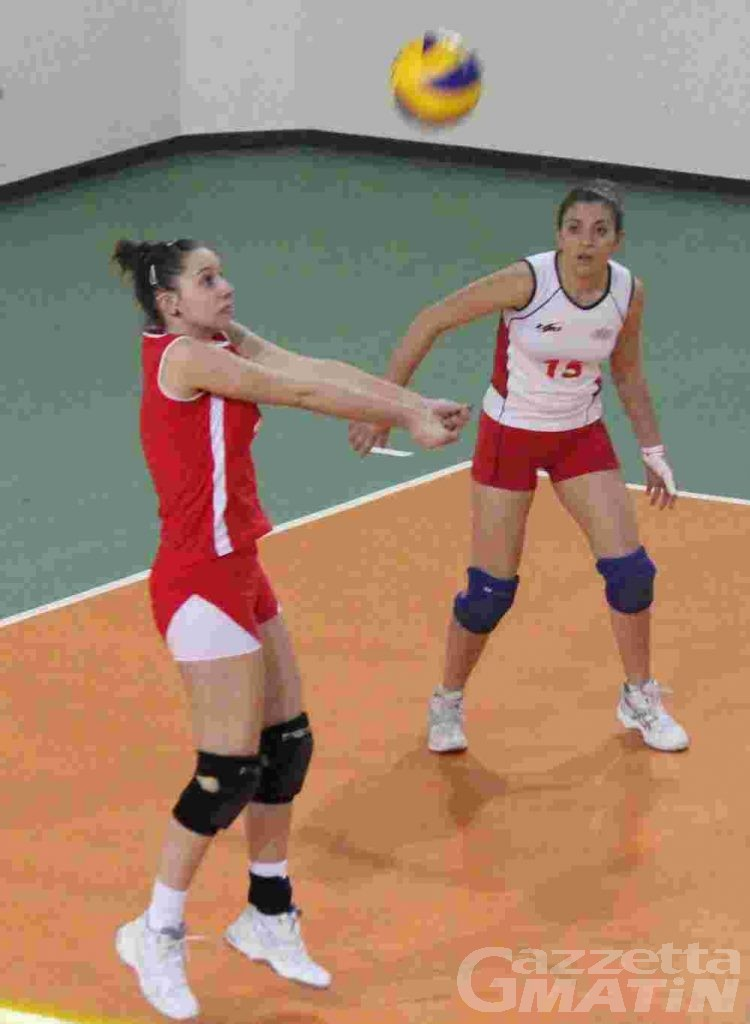 Volley: tre punti d'oro per la Cogne Acciai Speciali