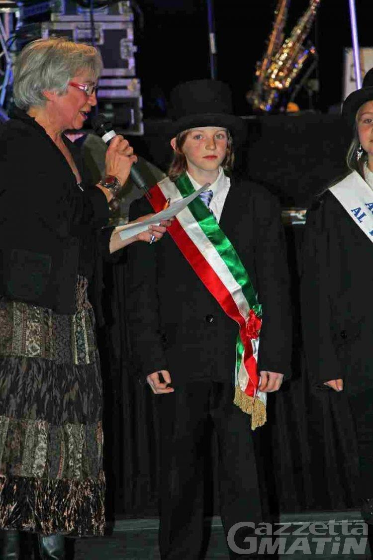 Saint-Vincent, domenica l'investitura del piccolo sindaco
