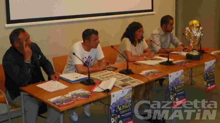 Calcio a 5: cinquanta squadre al Trofeo Città di Aosta