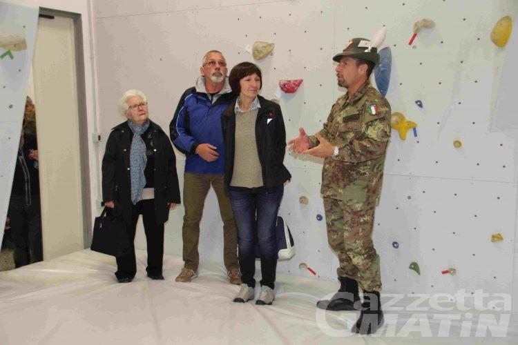 Esercito: nuova sala Boulder alla caserma Battisti-Ramires