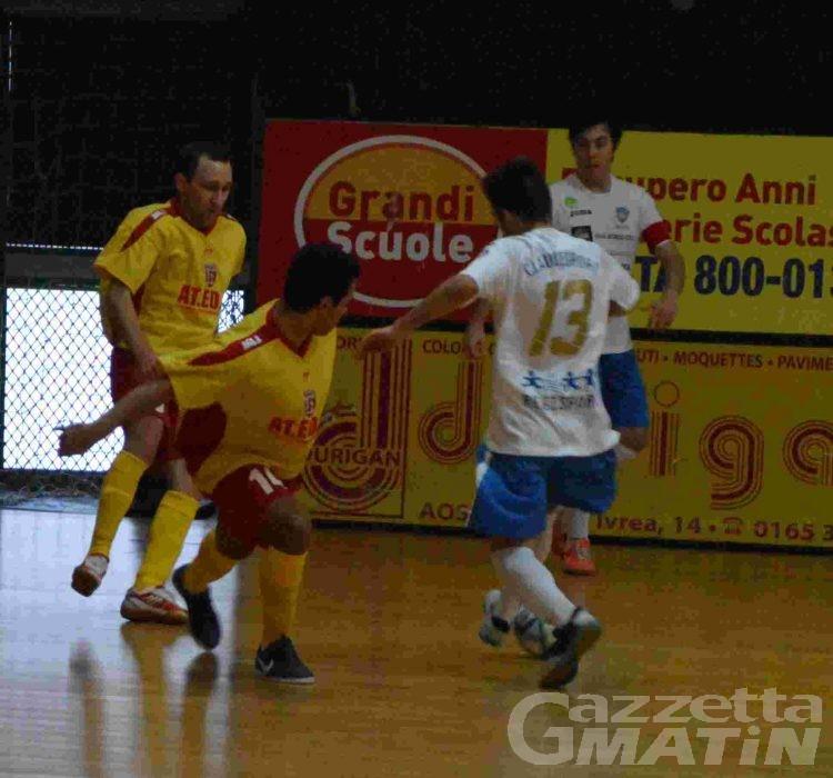Calcio a 5: l'Aosta 511 cade a Carmagnola e saluta i play off