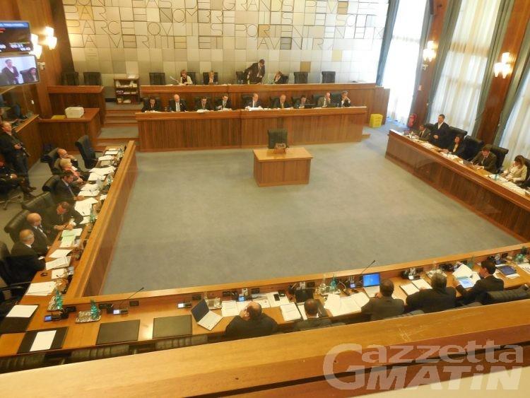 Consiglio Valle: la maggioranza Uv-Sa chiede tempo per analizzare il documento programmatico