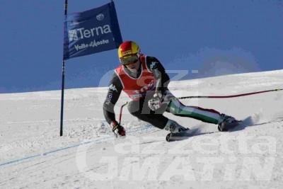 Sci alpino: Guglielmo Bosca terzo in Coppa Europa