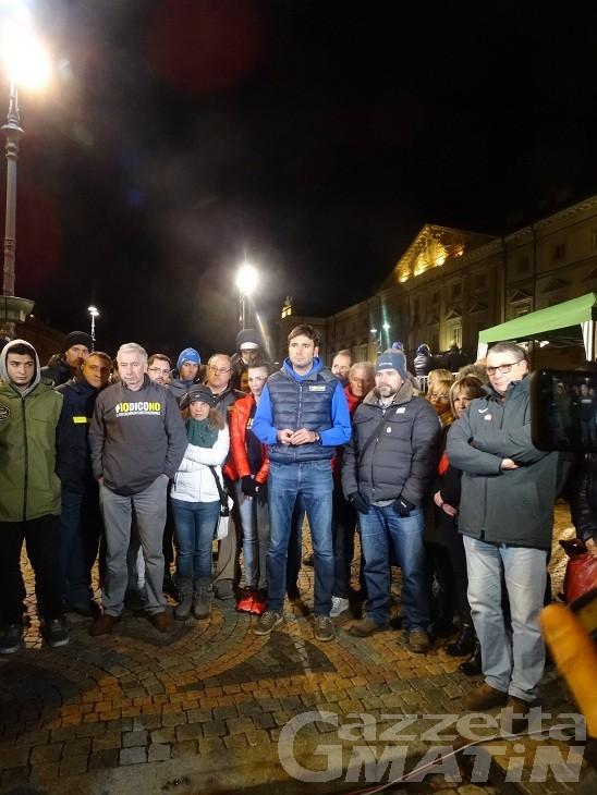 TreNo Tour M5S partito da Aosta, Crimi: «riforma cancella autonomie speciali»