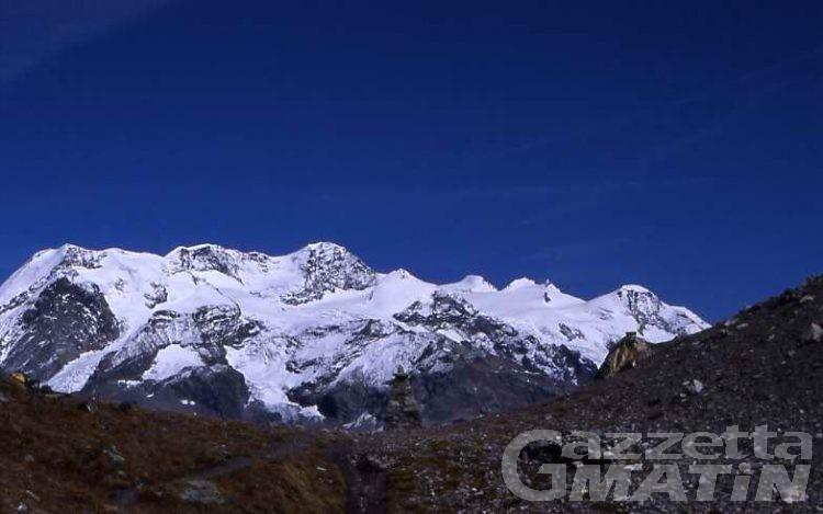 Incidenti montagna: tre alpinisti dispersi sul Monte Rosa