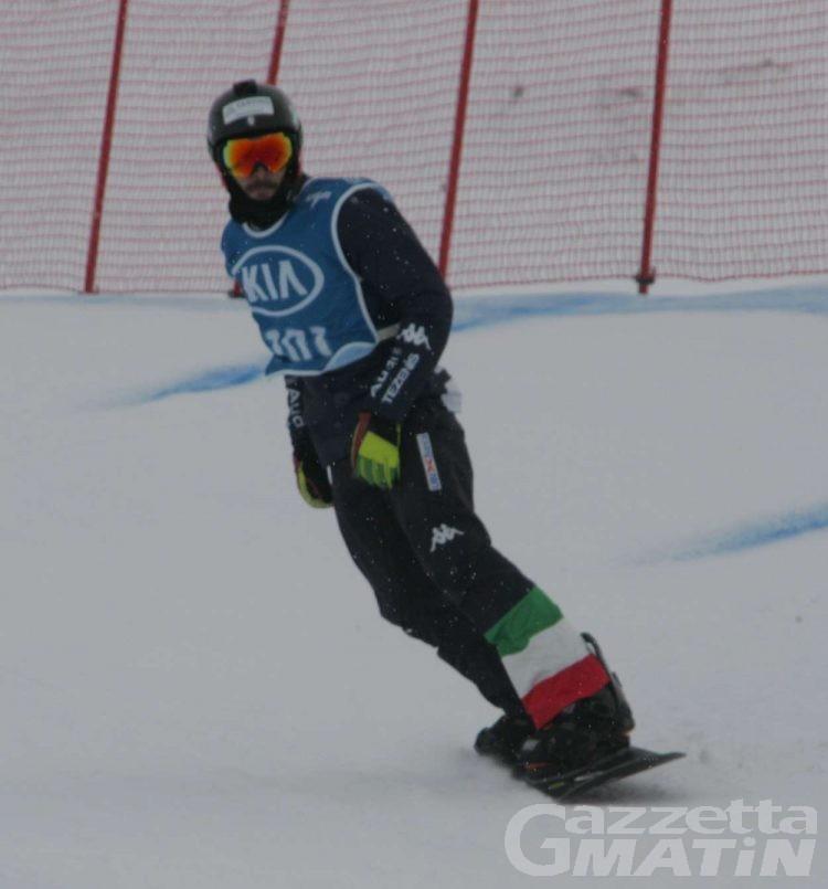 Snowboard: grande Italia, Matteotti è ottavo